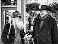 The Free Radicals Poet Laureate Jack Hirschman & Jewish Bohemian Dovid Krafchow discuss Cabala (5465774461).jpg