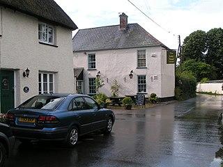 Brampford Speke village in United Kingdom
