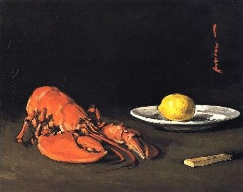 The Lobster by Samuel Peploe