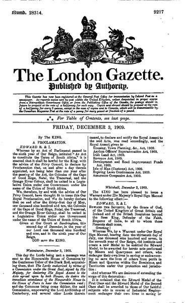 File:The London Gazette 28314.pdf