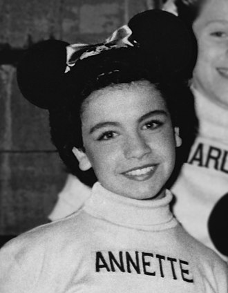 Annette Funicello - Funicello as a Mouseketeer on The Mickey Mouse Club (1956)