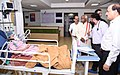 The Minister of State for Labour and Employment (Independent Charge), Shri Bandaru Dattatreya on a surprise visit to ESIC hospital, in Faridabad, Haryana on August 04, 2017 (1).jpg