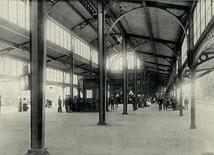 Johannesburg Park Station - Interior of the 1897 Park Halt station