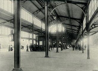 Johannesburg Park Station - Interior of the 1897 Park Halt station