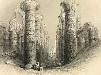 Amunet - Image: The Nile boat or, glimpses of the land of Egypt by W.H. Bartlett (1849) (14775173741)