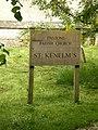 The Parish Church of St Kenelm's, Enstone, Sign - geograph.org.uk - 1323881.jpg