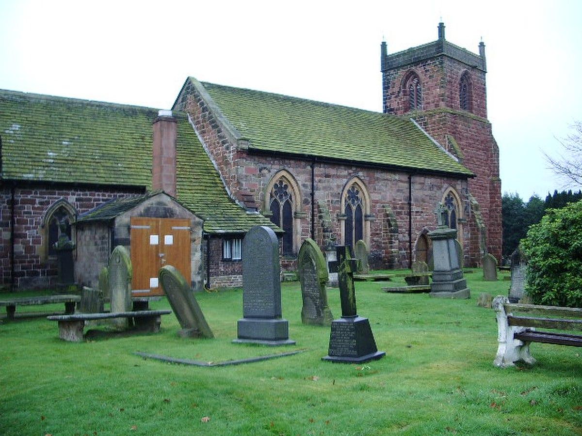 The Parish Church of St Mary, Eccleston - geograph.org.uk - 622076.jpg