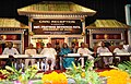 The President, Smt. Pratibha Devisingh Patil at a civic reception accorded to her by the Agartala Municipal Council, in Agartala on September 24, 2010.jpg