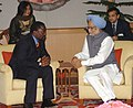 The Prime Minister, Dr. Manmohan Singh meeting with the President, Democratic Republic of Congo, Mr. Joseph Kabila Kabange, in New Delhi on April 09, 2008 (1).jpg