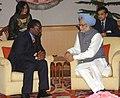 The Prime Minister, Dr. Manmohan Singh meeting with the President, Democratic Republic of Congo, Mr. Joseph Kabila Kabange, in New Delhi on April 09, 2008 (1).jpg