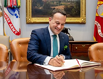 Leo Varadkar - Varadkar visits the White House in 2019