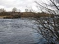 The River Tyne and the bridge piers of the old Border Counties Railway viaduct - geograph.org.uk - 1057563.jpg