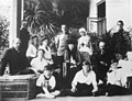 The Romanovs under house arrest in Ai Todor 1918.jpg