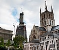 The Shard Under Construction & Southwark Cathedral 5170595040.jpg