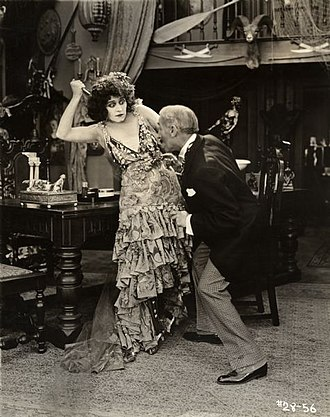 Theda Bara - Bara in The She-Devil (1918)