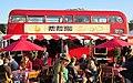 The Tea Stop Routemaster bus RML2406 (JJD 406D), 2011 Glastonbury Festival (1) cropped.jpg