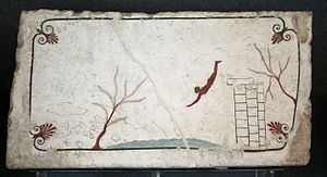 The Tomb of the Diver - Paestum - Italy.JPG