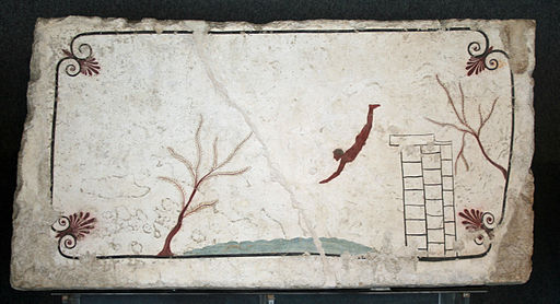 The Tomb of the Diver - Paestum - Italy