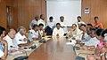 The Union Power Minister, Shri Sushilkumar Shinde with the Chief Minister of Karnataka, Shri B.S. Yeddyurappa, in a meeting, in New Delhi on August 06, 2009.jpg