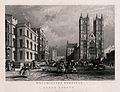 The Westminster Hospital, and Westminster Abbey, London. Eng Wellcome V0013807.jpg