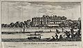 The castle in Challiot near Paris. Etching by I. Silvestre. Wellcome V0049995.jpg