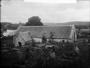 The church, Llangar