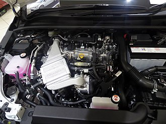 Toyota NR engine - Image: The engineroom of Toyota COROLLA Sport G (3BA NRE210H BHXNZ)