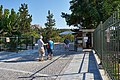The entrance to the archaeological site of the Ancient Agora on August 18, 2020.jpg