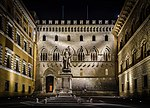 The oldest surviving bank in the world. Siena, Italy. (23117920029).jpg