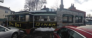 Monarch Diner - Image: The owl diner in lowell, mass