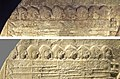 The phalangists in the Stele of the Vultures, in 1969 (top) and in 2005 (bottom).jpg