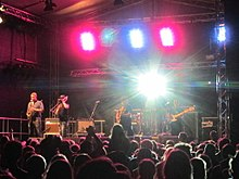 The Toasters playing at LabaDaba Festival, August 2013