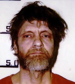 Ted Kaczynski American domestic terrorist, mathematician and anarchist