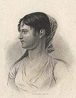 Theodosia Burr Alston, engraving by H. Wright Smith