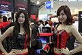 Thermaltake Technology promotional models at Computex 20100603.jpg