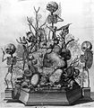 Thesaurus anatomicus; skeleton monument. Wellcome L0007581.jpg