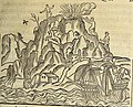 Thevet Singularitez Paris 1558 f 28r Ile de Feu.jpg