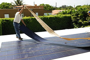 Thin Film Solar Cell Wikipedia