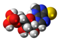 Thioinosine monophosphate 3D spacefill.png
