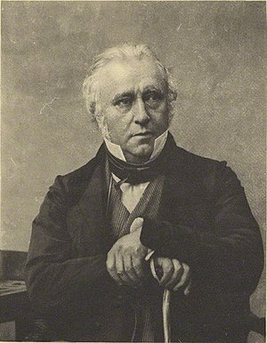 Thomas Babington Macaulay - Photogravure of Macaulay by Antoine Claudet