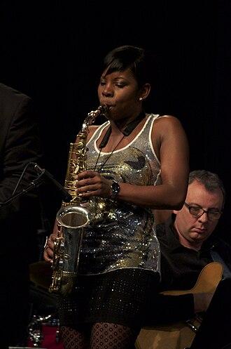 Tia Fuller - Tia Fuller in concert