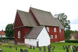 Tjuvar stal tak fran kyrkobyggnad