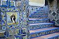 Tilework and Stairs in Garden of Museo Sorolla - Madrid - Spain.jpg