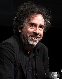 Tim Burton vid San Diego Comic-Con International 2012.