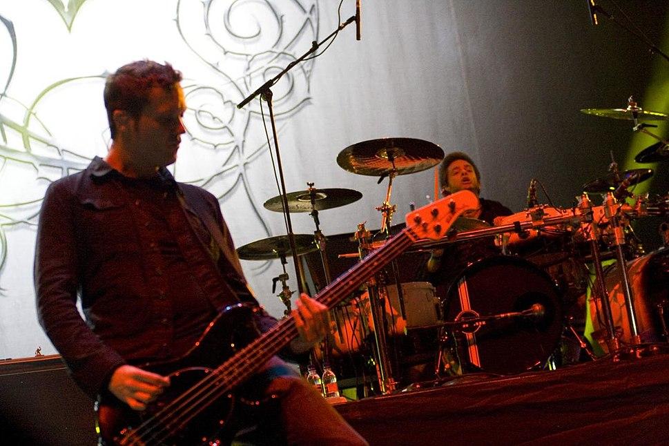 Tim McCord of Evanescence @ Maquin%C3%A1ria Festival