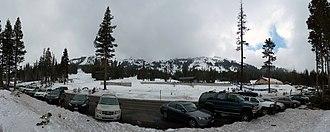 Kirkwood Mountain Resort - Image: Timber Creek Kirkwood Ski Resort Feb 2012