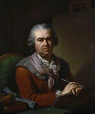 Johann Heinrich Tischbein - Self-portrait (1770s)