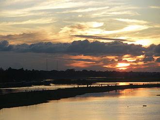 Brahmanbaria - The Titas River, seen from Brahmanbaria