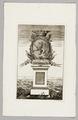 """Titelblad till """"Hallandia antiqua et hodierna"""", 1752-1753 - Skoklosters slott - 99653.tif"""