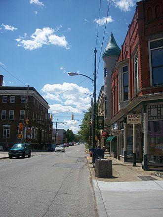 Erie–Meadville, PA Combined Statistical Area - Image: Titusvillepa